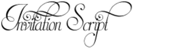 Invitation script font download invitation script font stopboris Choice Image