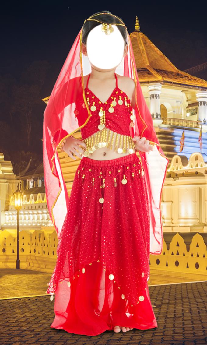 Indian Girl Kids Wear