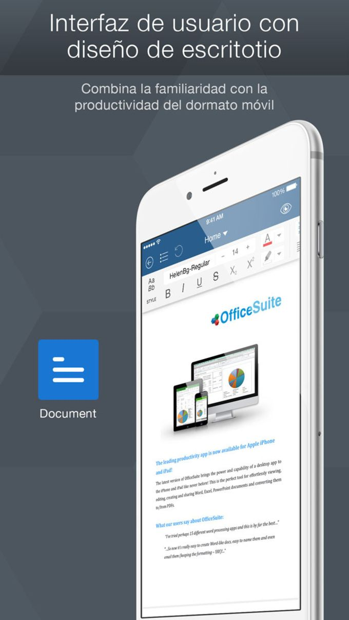 OfficeSuite Free - PDF + documentos de oficina