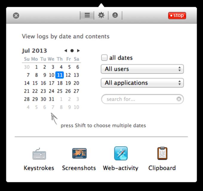 Elite Keylogger for Mac OS X