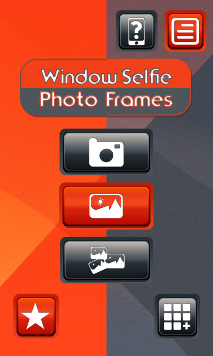 Window Selfie Photo Frames