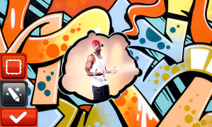 Hip Hop Photo Frames