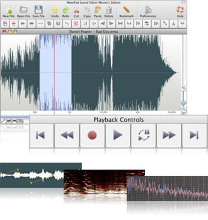 Wavepad Audio Editor for Mac