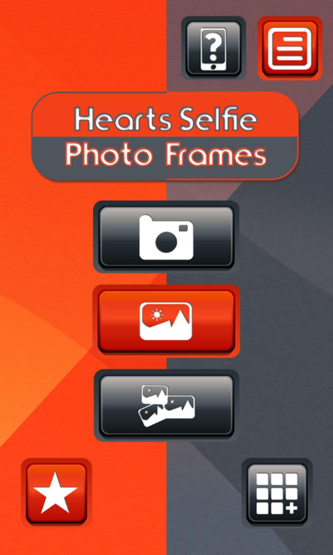 Hearts Selfie Photo Frames