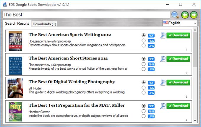 EDS Google Books Downloader