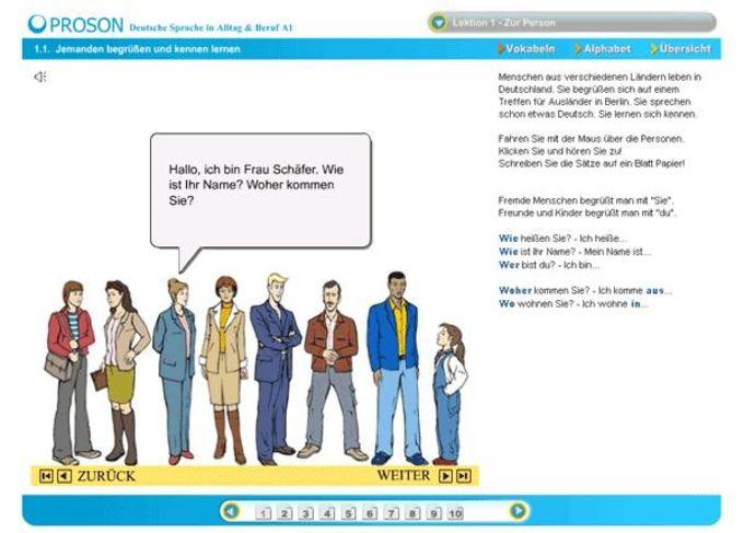 Curso de alemán - A1
