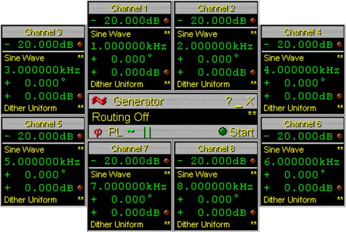 Audio Multi-Channel Generator