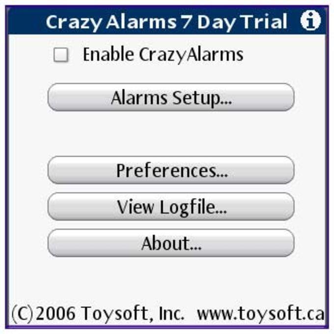 Crazy Alarms