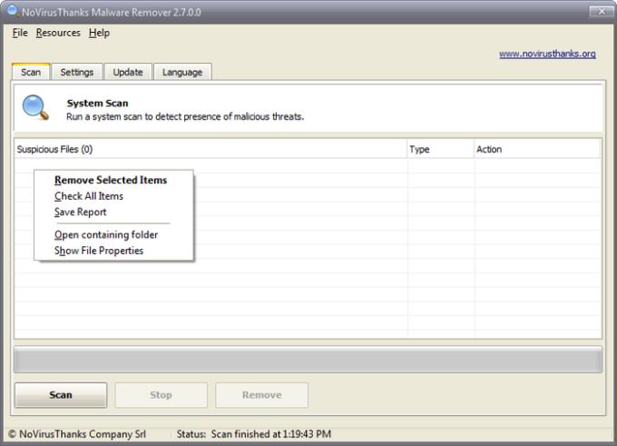 NoVirusThanks Malware Remover