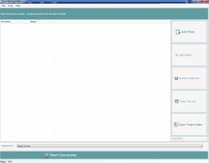Excel File Converter Batch