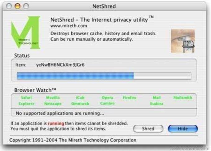 NetShred