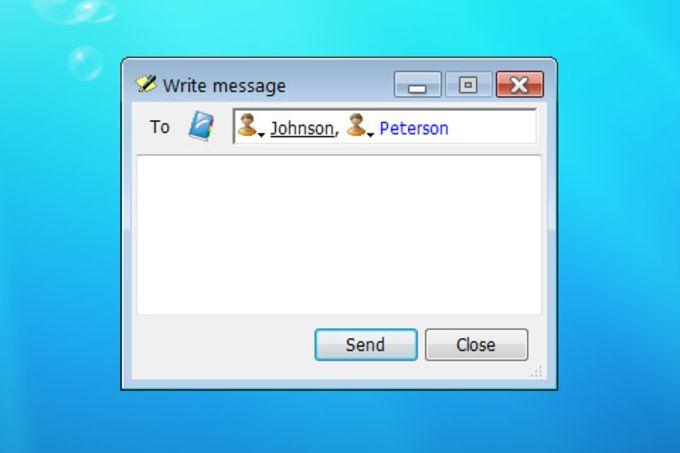 WinSent Messenger