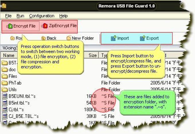Remora USB File Guard