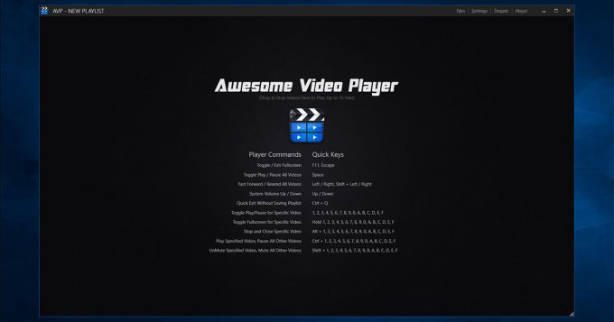 Awesome Video Player