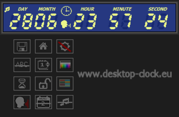 Digital Clock and Countdown Ticker