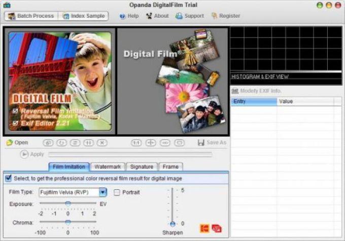 Opanda DigitalFilm