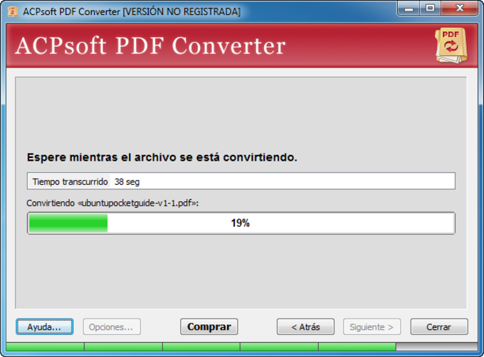 ACPsoft PDF Converter