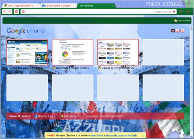Google Chrome World Cup