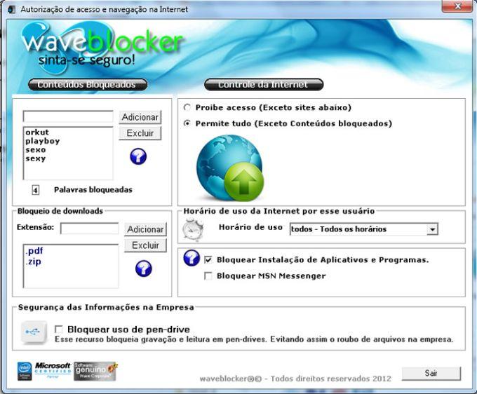 Wave Blocker - Bloquear Sites