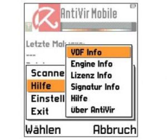 Avira AntiVir mobile