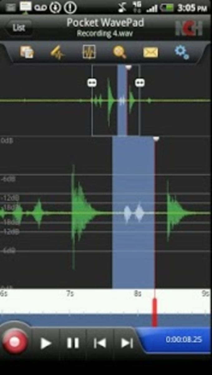 WavePad Free Audio Editing for Android