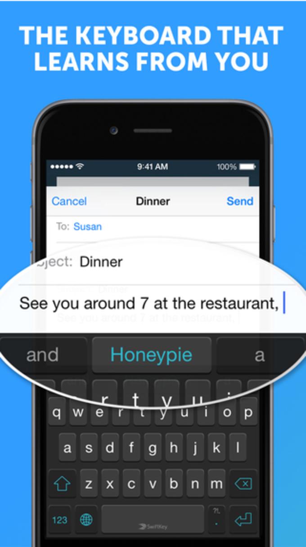 SwiftKey Keyboard for iOS 8