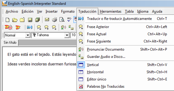 English-Spanish Interpreter
