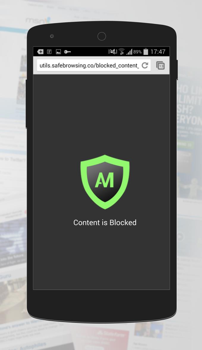 Safe Browsing Anti-Malware