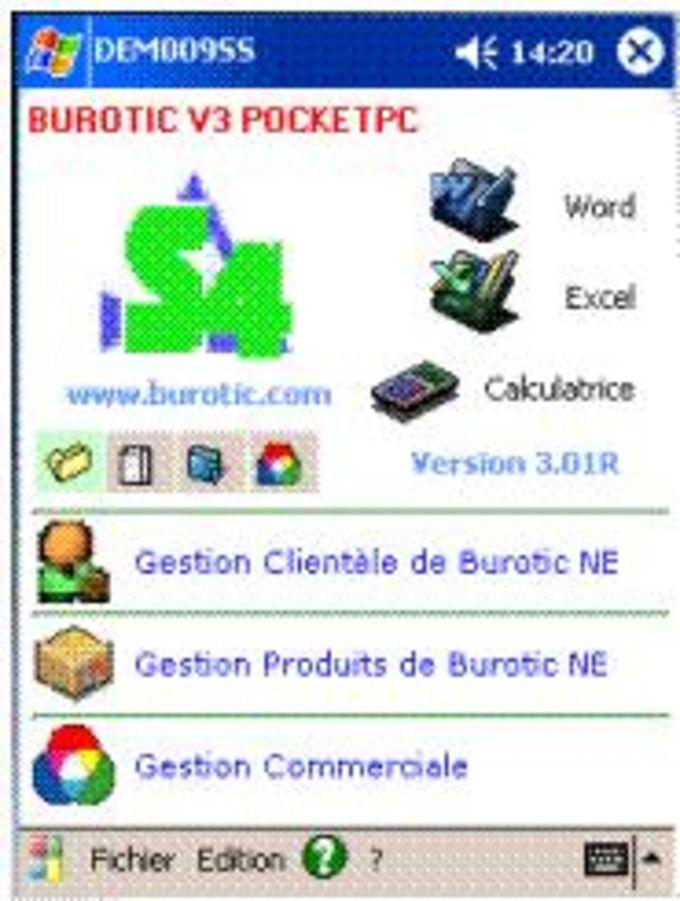 Burotic Mobile S4 Market Management
