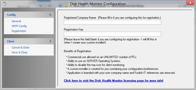 Disk Health Monitor