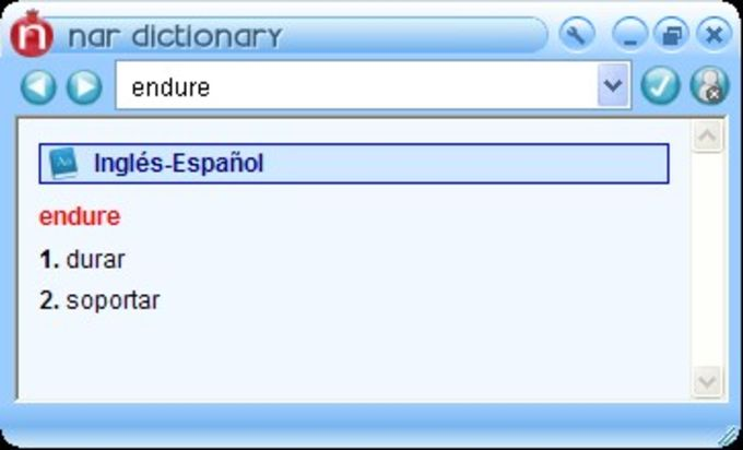 Nar Dictionary