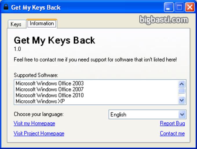 Get My Keys Back