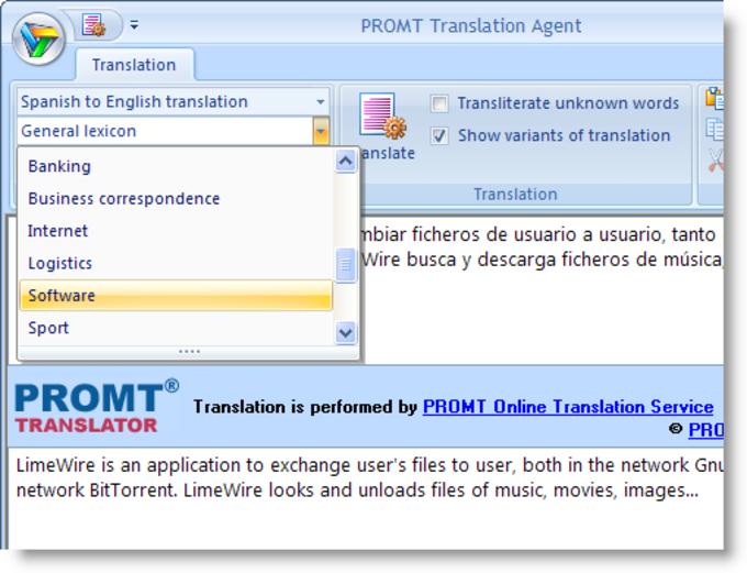 PROMT Translation Agent