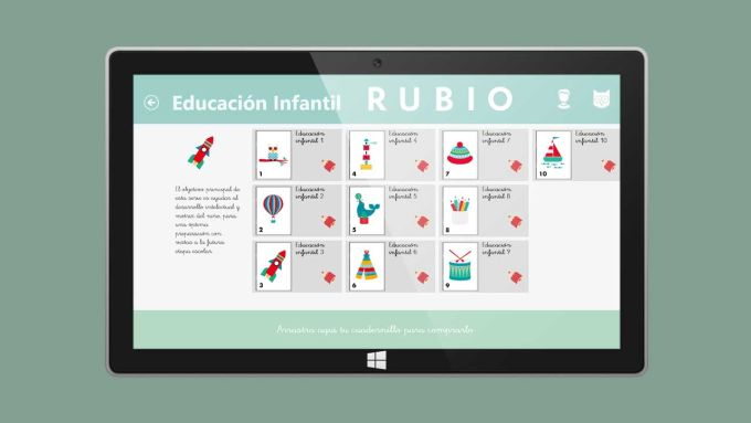 Cuadernos Rubio para Windows 10