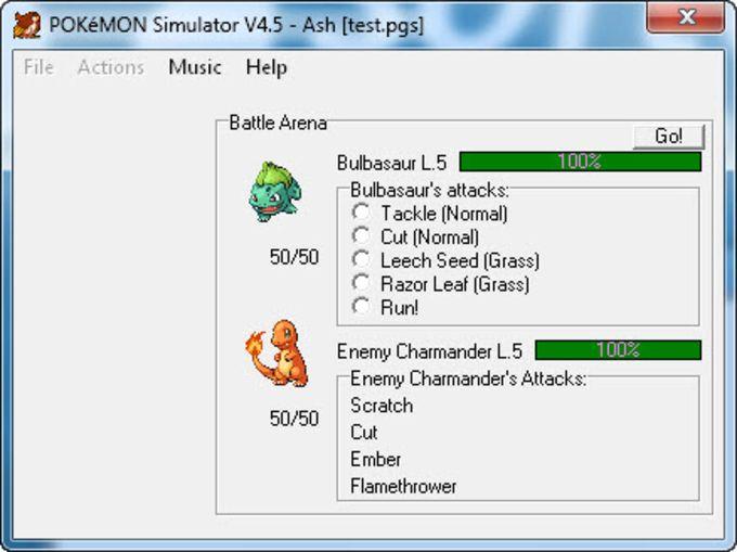 Pokémon Simulator