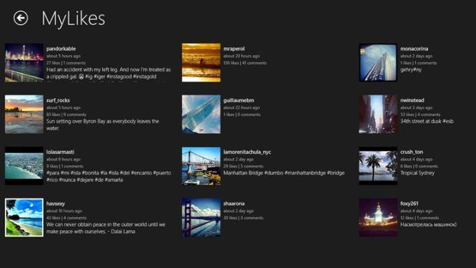 Instametrogram for Windows 10