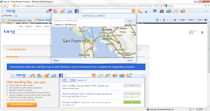 Bing Toolbar
