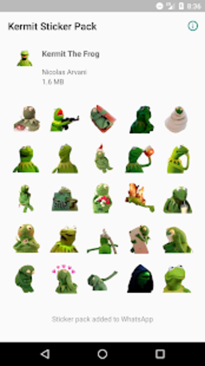 Kermit The Frog Sticker Pack