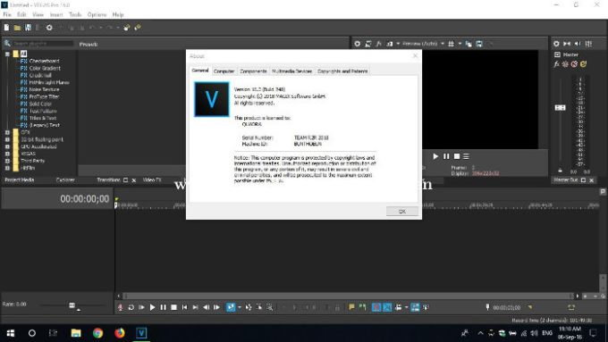 sony vegas pro free download full version no trial