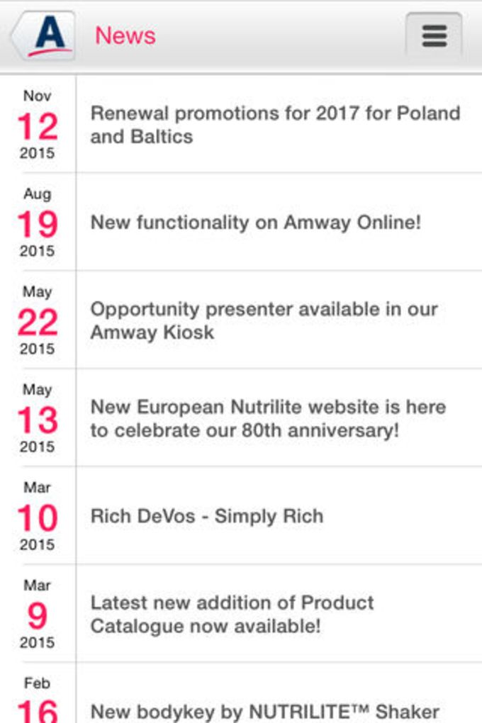 Amway Europe and Russia