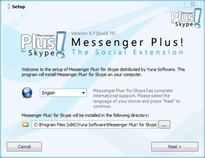 Autoriser l'accès pour Messenger Plus! pour Skype