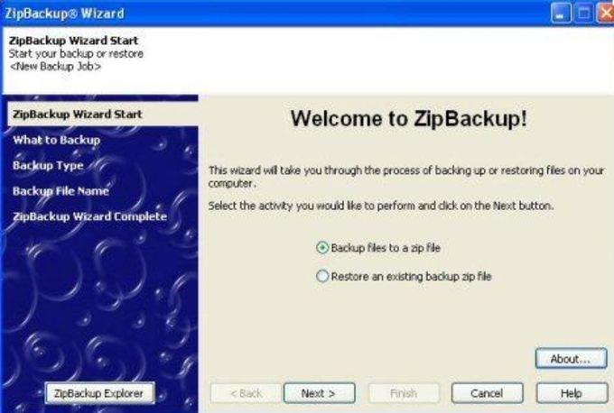 ZipBackup