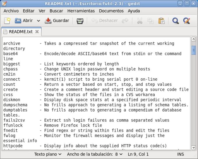 Fedora Core Linux Utilities