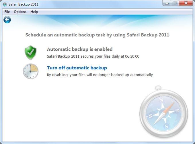 Safari Backup 2012