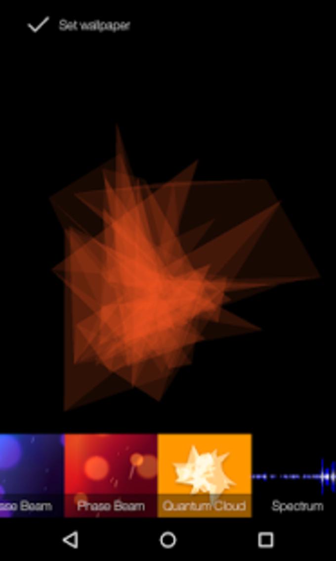 Quantum Cloud Live Wallpaper
