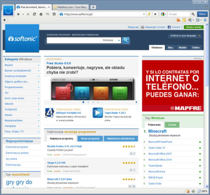 Maxthon MX5 Cloud Browser