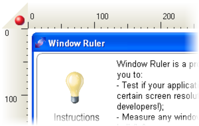 Window Ruler
