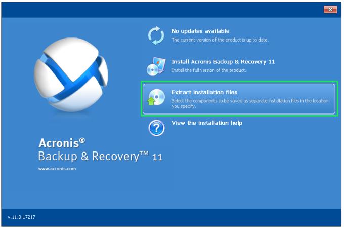 Acronis Backup for Linux Server