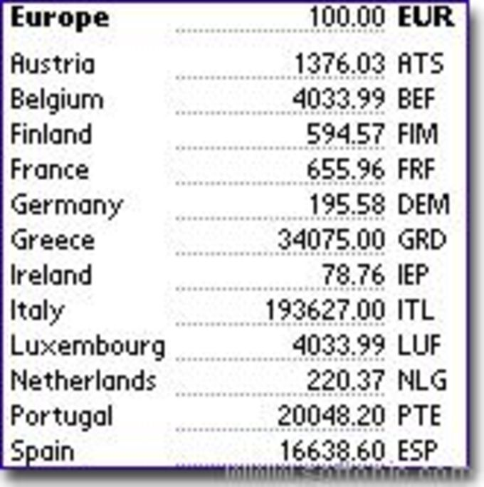 EuroCurrency