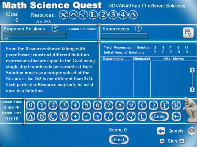 Math Science Quest